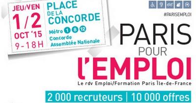 10 000 offres au salon paris pour l 39 emploi arml idf - Salon emploi ile de france ...