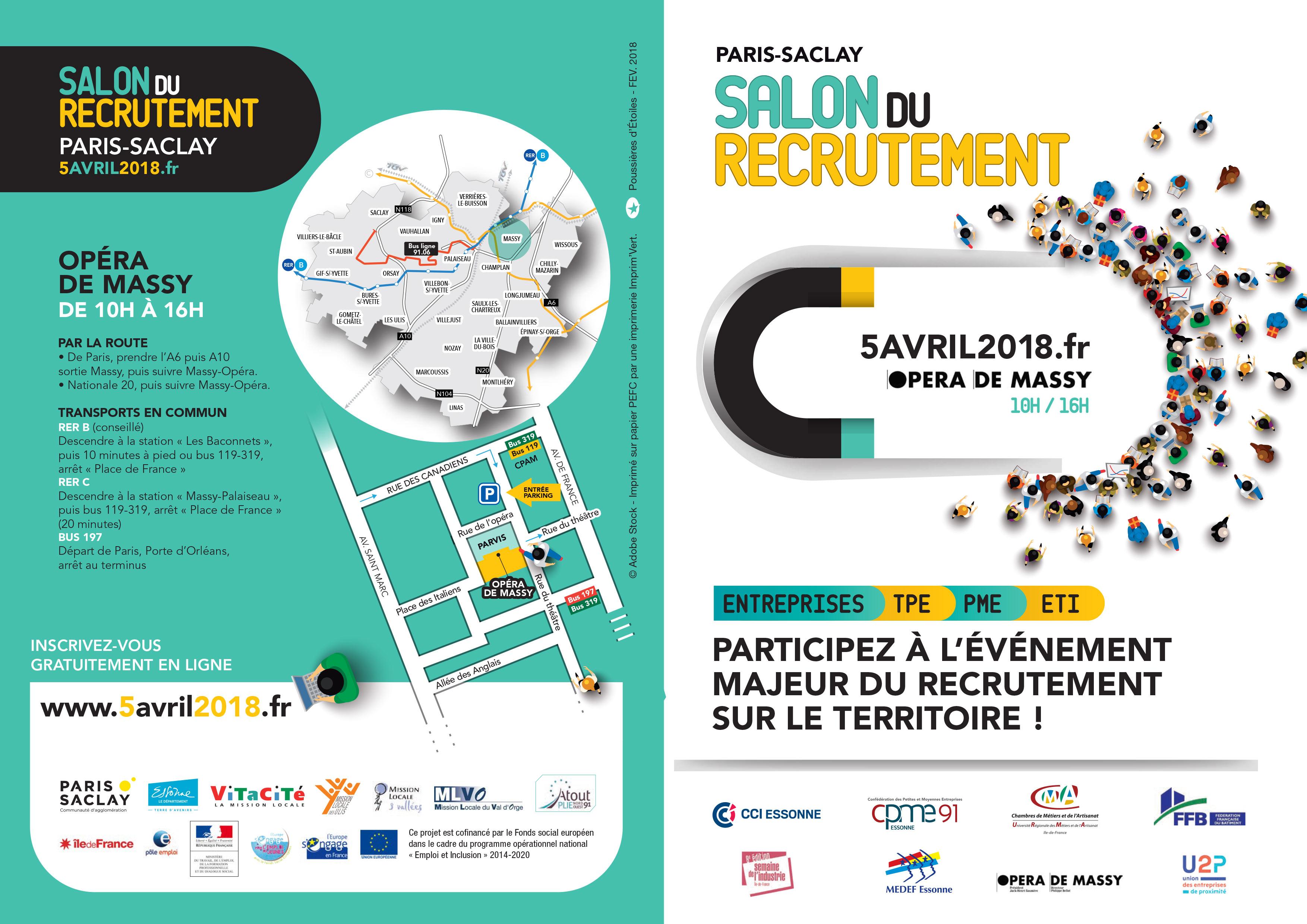 Salon du recrutement paris saclay arml idf - Salon du recrutement ...